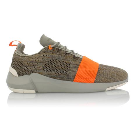 Ceroni Slip On // Cement + Orange (US: 7)