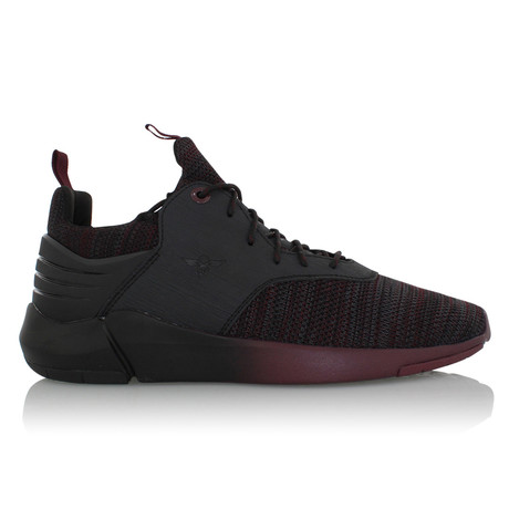 Motus Sneakers // Black + Burgundy (US: 7)