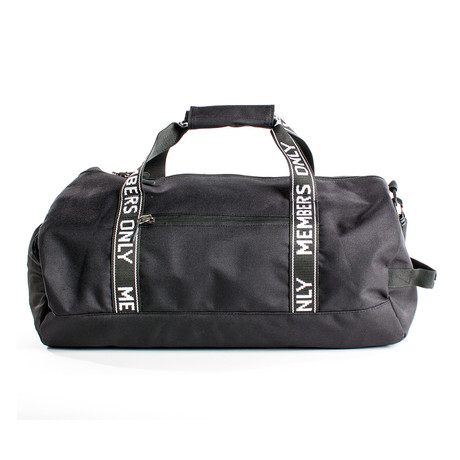 Hard Work Gym Bag // Black