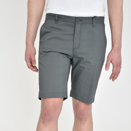 Tech Fabric Shorts // Slate (30)