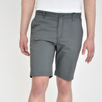 Tech Fabric Shorts // Slate (34)