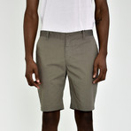 Tech Fabric Shorts // Khaki (32)