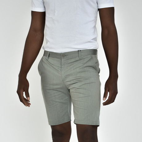 Tech Fabric Shorts // Sage (30)
