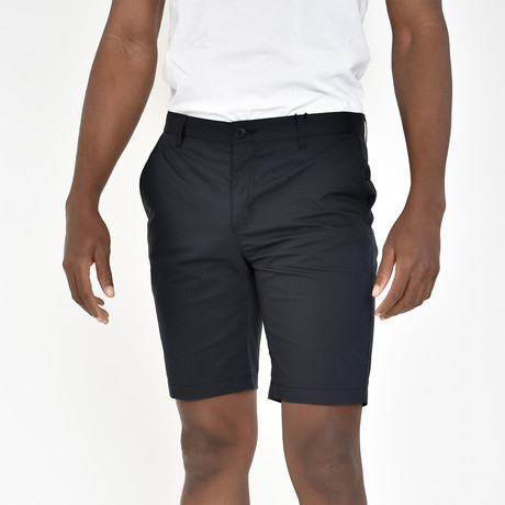 Tech Fabric Shorts // Black (30)