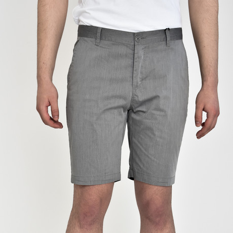 Tech Fabric Shorts // Gray (30)
