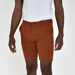 Twill Shorts // Burnt Orange (38)