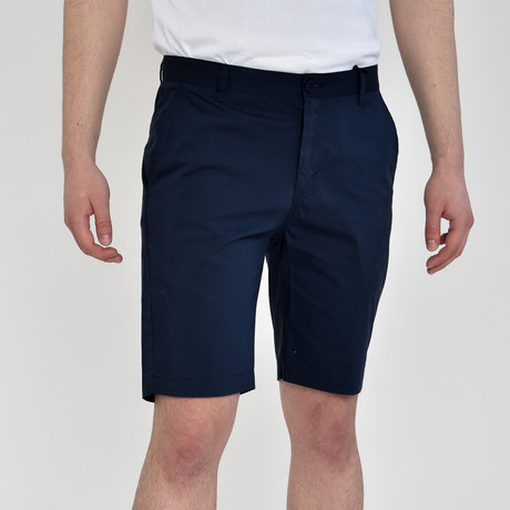 Tech Fabric Shorts // Navy (30)
