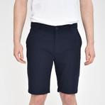 Luxury Linen Feel Shorts // Dark Navy (30)