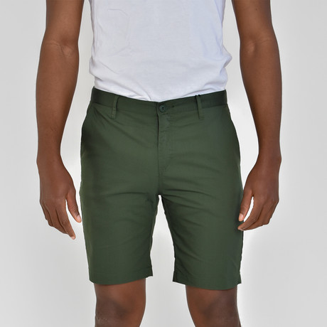 Tech Fabric Shorts // Emerald Green (30)
