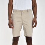 Tech Fabric Shorts // Sand (38)