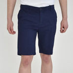 Twill Shorts // Navy (34)