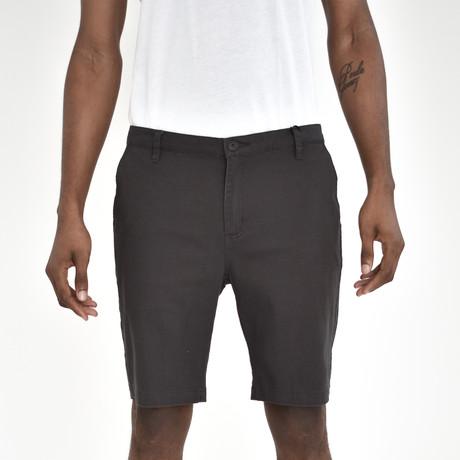 Twill Shorts // Charcoal (30)