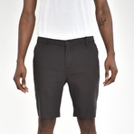 Twill Shorts // Charcoal (34)