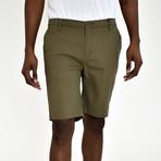 Twill Shorts // Olive (34)