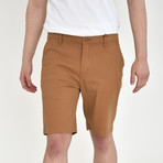 Twill Shorts // Honey Brown (30)