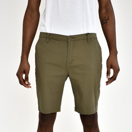 Twill Shorts // Olive (30)