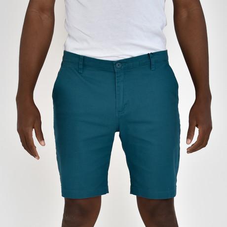 Twill Shorts // Teal (30)
