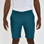 Twill Shorts // Teal (32)