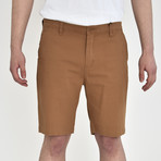 Twill Shorts // Honey Brown (36)
