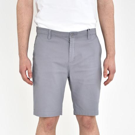 Twill Shorts // Gray (30)