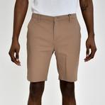 Twill Shorts // Camel (38)