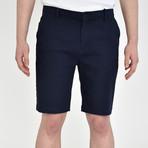 Twill Shorts // Midnight Blue (38)