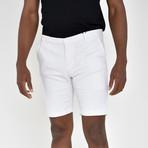 Twill Shorts // White (34)