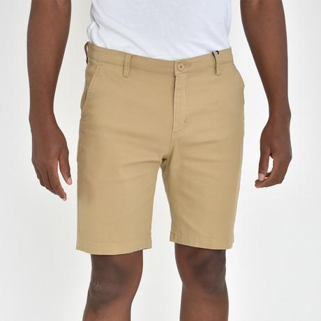 Twill Shorts // Khaki (30)
