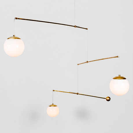 Mobile // Hanging (Hanging Brass)