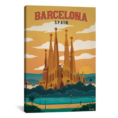 """Barcelona // IdeaStorm Studios (18""""W x 26""""H x 0.75""""D)"""