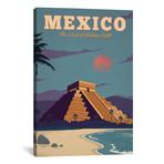 """Mexico (18""""W x 26""""H x 0.75""""D)"""