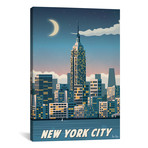 "New York City (18""W x 26""H x 0.75""D)"