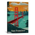 """San Francisco (18""""W x 26""""H x 0.75""""D)"""
