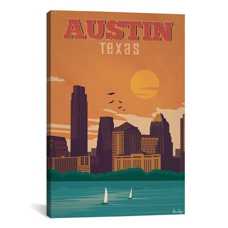 """Vintage Austin (18""""W x 26""""H x 0.75""""D)"""