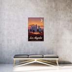 "Vintage Los Angeles (18""W x 26""H x 0.75""D)"