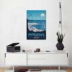 "Vintage Mykonos (18""W x 26""H x 0.75""D)"