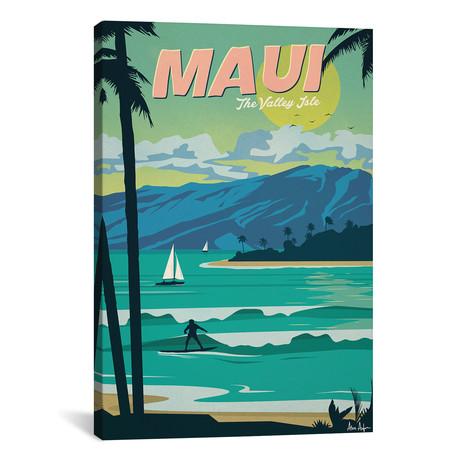 """Vintage Maui (18""""W x 26""""H x 0.75""""D)"""