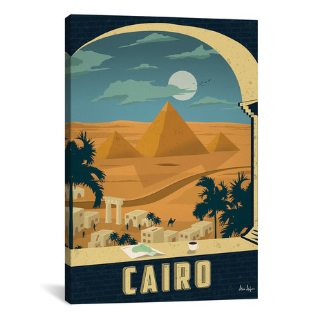 """Cairo // IdeaStorm Studios (18""""W x 26""""H x 0.75""""D)"""