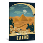 """Vintage Cairo (18""""W x 26""""H x 0.75""""D)"""
