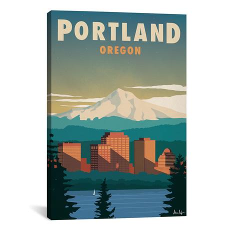"Vintage Portland (18""W x 26""H x 0.75""D)"