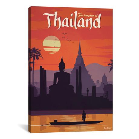 "Vintage Thailand (18""W x 26""H x 0.75""D)"