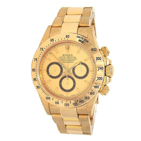 Rolex Zenith Daytona Cosmograph Automatic // 16528 // T Serial // Pre-Owned