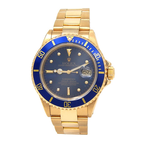 Rolex Submariner Automatic // 16808 // 9 Million Serial // Pre-Owned