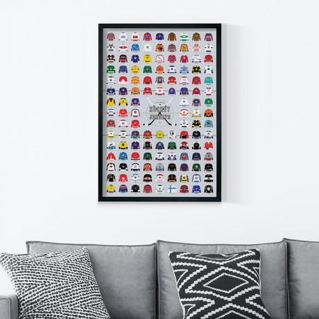 A Visual Compendium of Hockey Jerseys