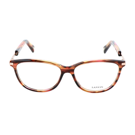 Women's VLN767 Frames // Brown + Pink + Streaked Orange