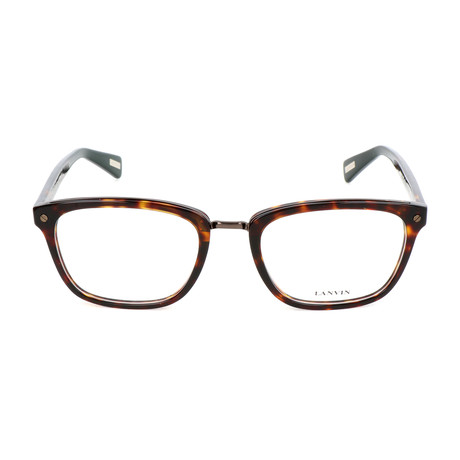 Men's VLN667M Optical Frames // Brown Havana + Yellow