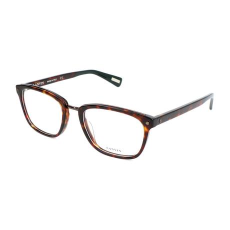 Men's VLN667M Optical Frames // Brown Havana + Yellow