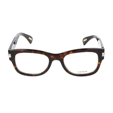 Men's VLN666 Optical Frames // Dark Havana