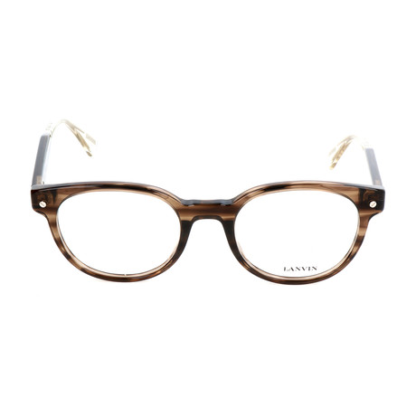 Men's VLN684 Optical Frames // Brown
