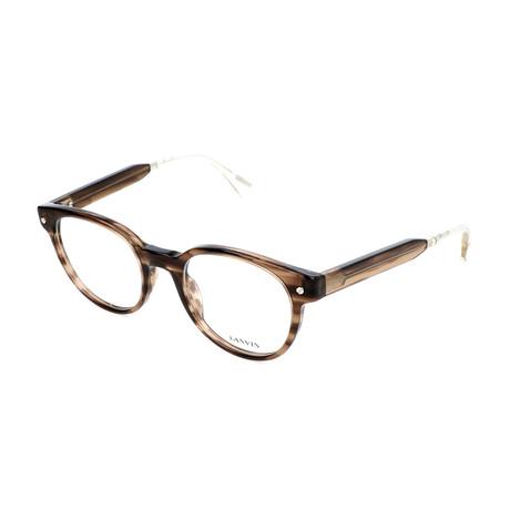 Men's VLN684 Optical Frames // Brown